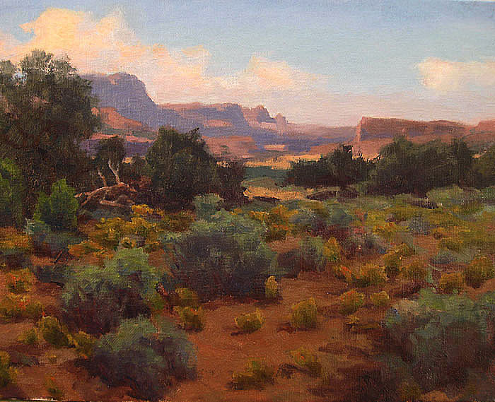 "Canyon Country 11""x14"" oil SOLD"