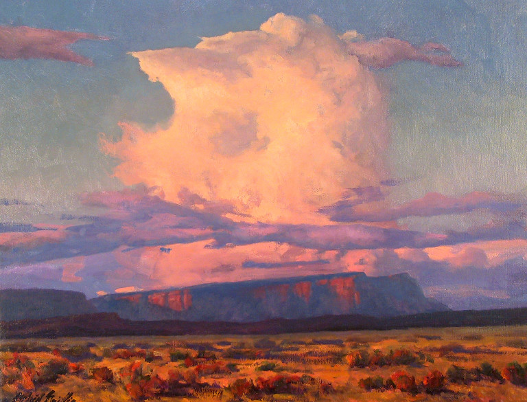 "Kanab Skyscape 24""x30"" oil SOLD"